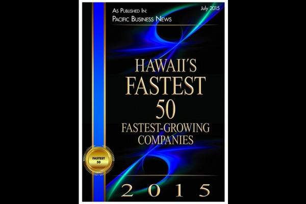 Epic Lighting LLC Named Among Hawaii's Fastest 50 in 2015